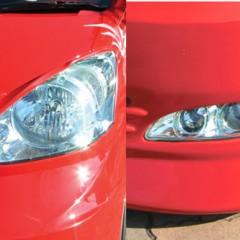 ヘッドライト& S/Wランプ塗装