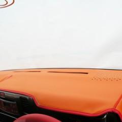 ベース/オレンジ 縁/レッド