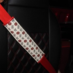 シートベルト巻き替え¥20,000 ④白/黒