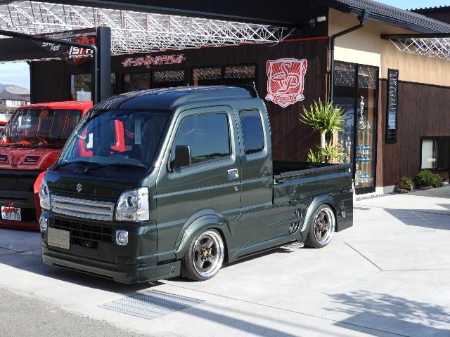 軽トラック 改造 エアロ